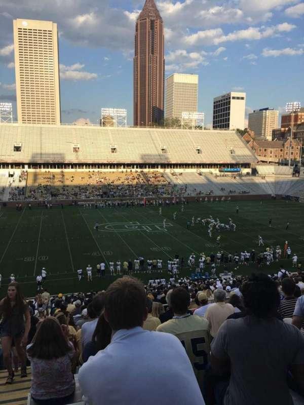 Bobby Dodd Stadium, sección: 107, fila: 42, asiento: 24