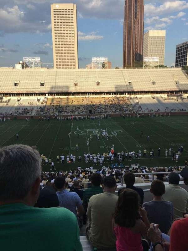 Bobby Dodd Stadium, sección: 107, fila: 45, asiento: 5