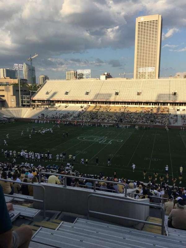 Bobby Dodd Stadium, sección: 104, fila: 45, asiento: 21