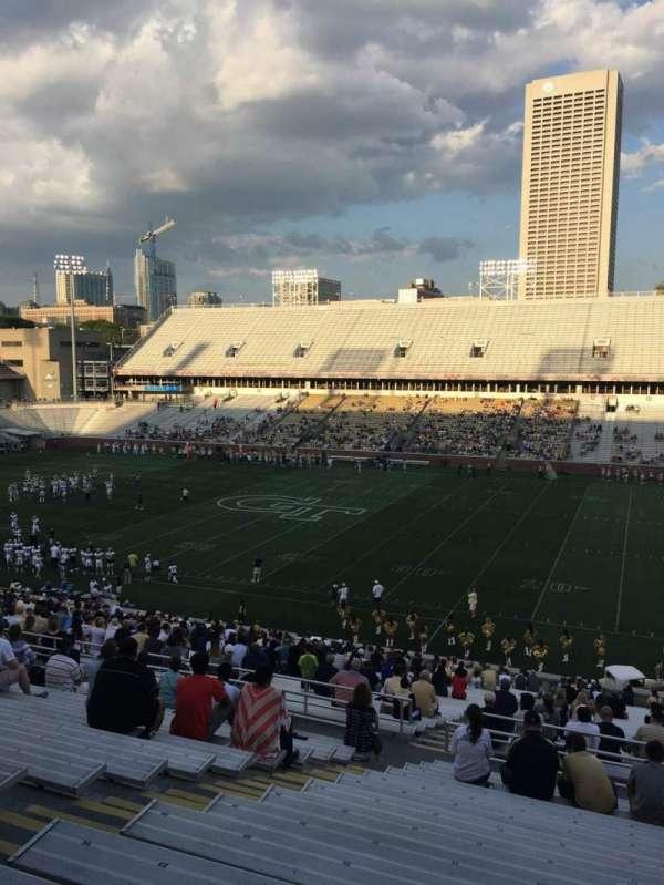 Bobby Dodd Stadium, sección: 103, fila: 44, asiento: 19