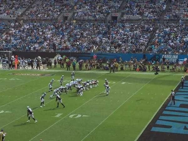 Bank of America Stadium, sección: 311, fila: 9, asiento: 7
