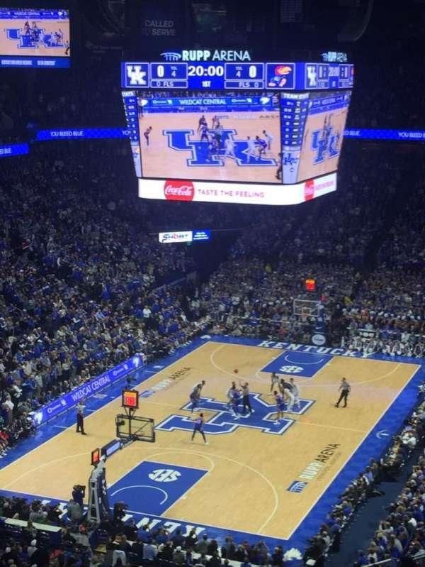 Rupp Arena, sección: 219, fila: M, asiento: 29