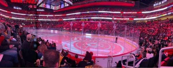 Little Caesars Arena, sección: 106, fila: 5, asiento: 1