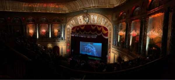 The Fillmore Detroit, sección: UprBalc2, fila: A, asiento: 1