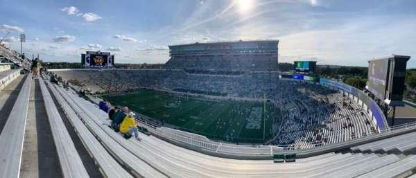 Spartan Stadium, sección: 105, fila: 10, asiento: 25