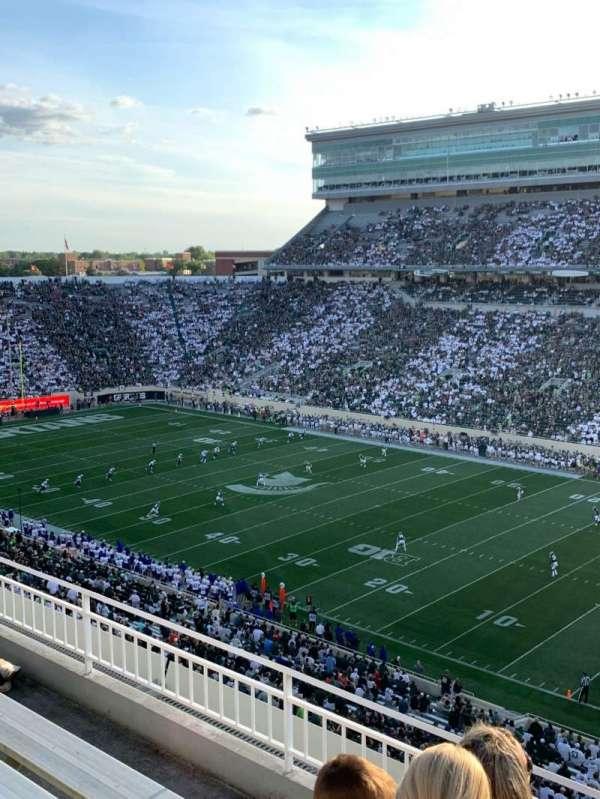 Spartan Stadium, sección: 105, fila: 5, asiento: 1