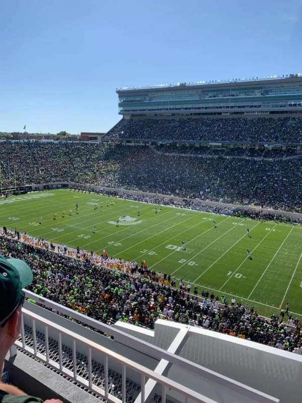 Spartan Stadium, sección: 106, fila: 2, asiento: 1