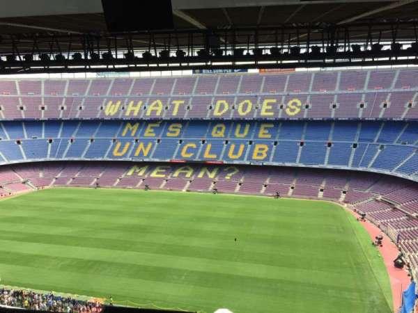 Camp Nou, sección: 309
