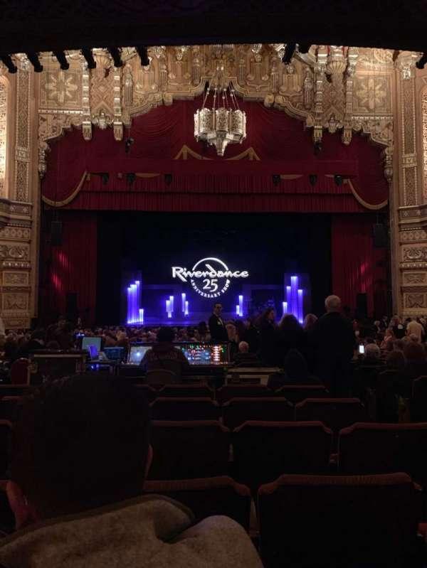 Fox Theatre (Detroit), sección: F3, fila: CC, asiento: 312