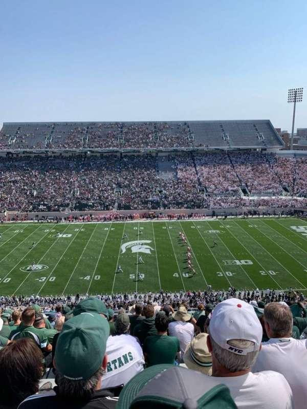 Spartan Stadium, sección: 123, fila: 15, asiento: 34