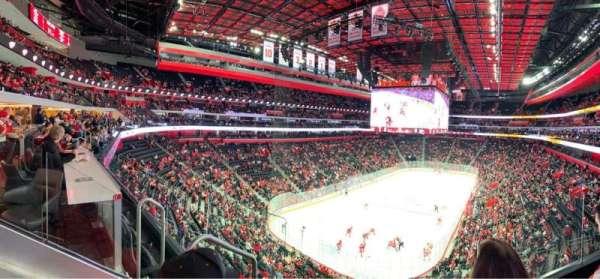 Little Caesars Arena, sección: M1, fila: C, asiento: 4