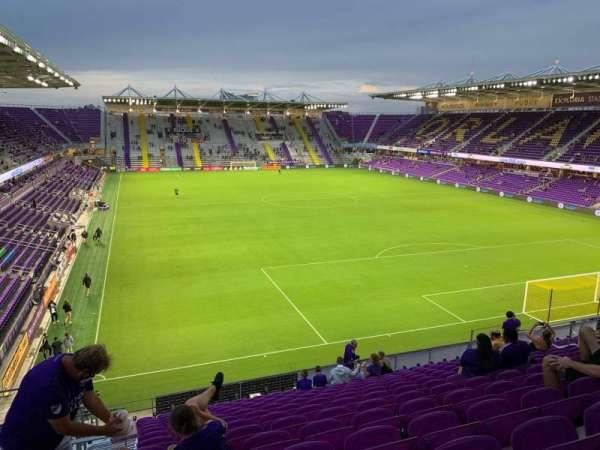 Exploria Stadium, sección: 106, fila: P, asiento: 22