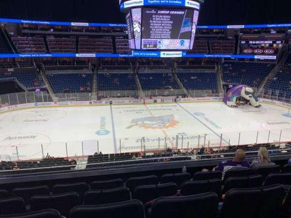 Amway Center, sección: Club D, fila: 5, asiento: 15