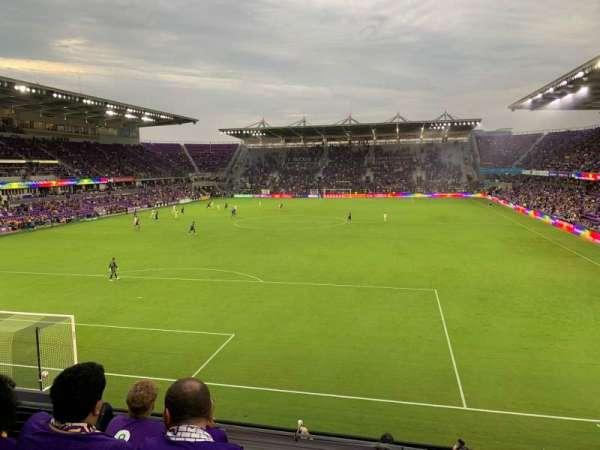 Exploria Stadium, sección: 103, fila: D, asiento: 4