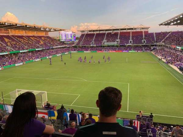 Exploria Stadium, sección: 24, fila: Y, asiento: 03