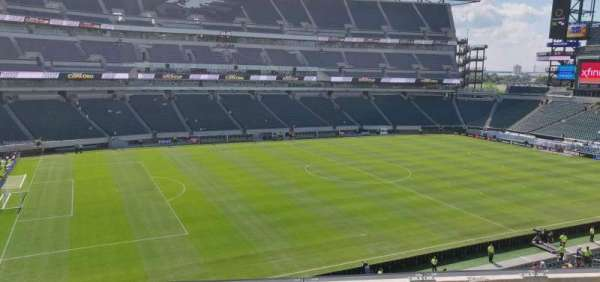 Lincoln Financial Field, sección: C18, fila: 5, asiento: 11