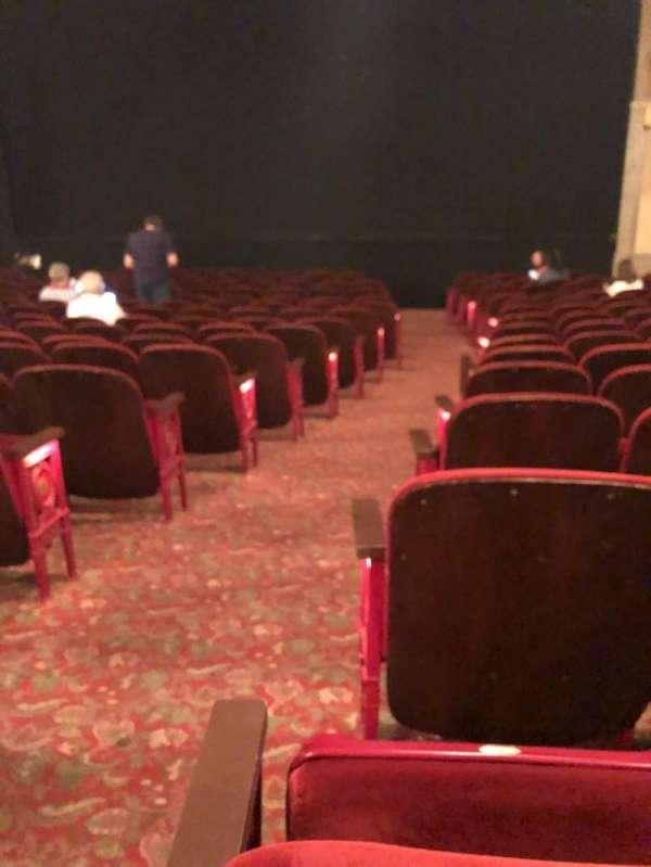 Neil Simon Theatre, sección: Orch, fila: O, asiento: 2