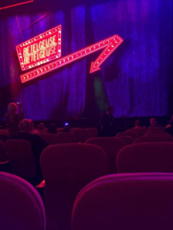 National Theatre (DC), sección: Orch, fila: J , asiento: 4