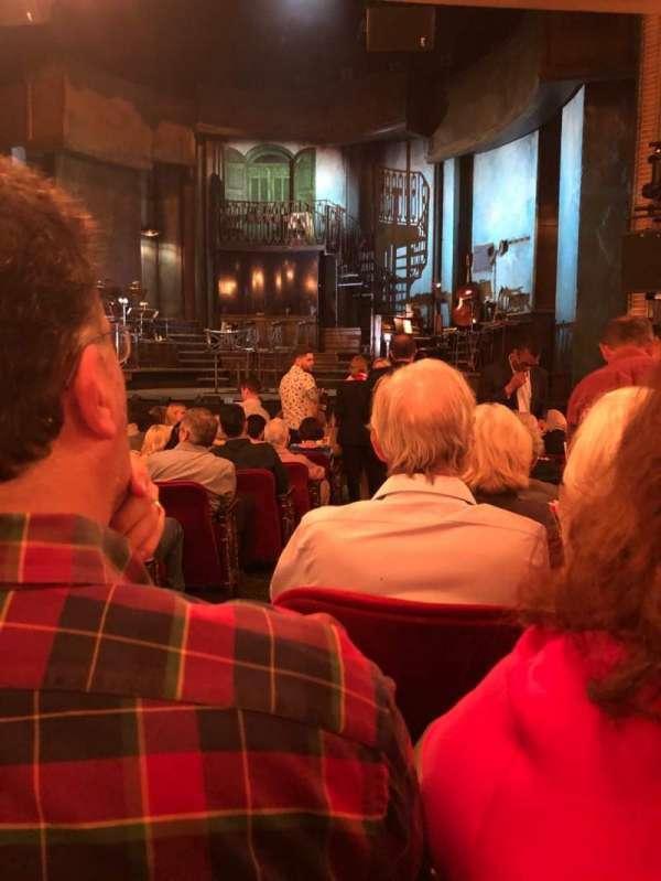 Walter Kerr Theatre, sección: Orch, fila: P, asiento: 4