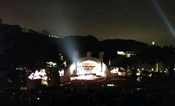 Hollywood Bowl, sección: U2, fila: 3, asiento: 111