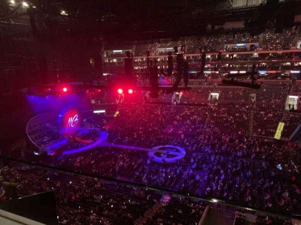 Staples Center, sección: 317, fila: 1, asiento: 1