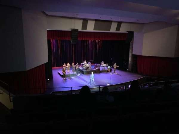 Downey Theatre, sección: Balcony Left, fila: FF, asiento: 1