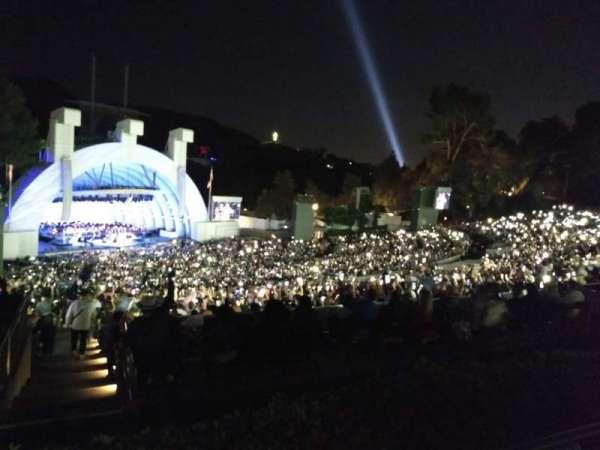 Hollywood Bowl, sección: P3, fila: 5, asiento: 23