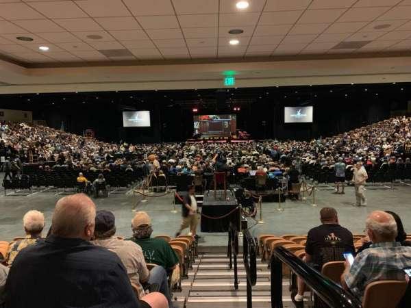 The Special Events Center at the Fantasy Springs Resort Casino, sección: VV, fila: K, asiento: 10