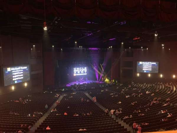 Microsoft Theater, sección: Lower Mezz Left, fila: C, asiento: 501