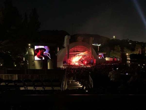 Hollywood Bowl, sección: P3, fila: A, asiento: 29