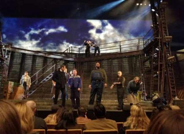 Ahmanson Theatre, sección: Orch, fila: D, asiento: 10