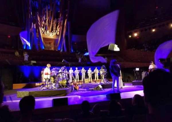 Walt Disney Concert Hall, sección: Front Orch, fila: EE, asiento: 161