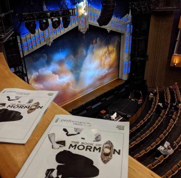 Ahmanson Theatre, sección: Balcony, fila: BXE, asiento: 204