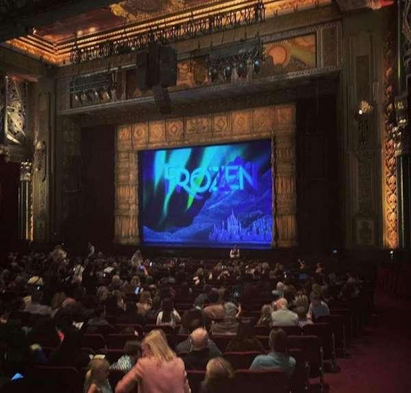 Hollywood Pantages Theatre, sección: Orchestra R, fila: XX, asiento: 16
