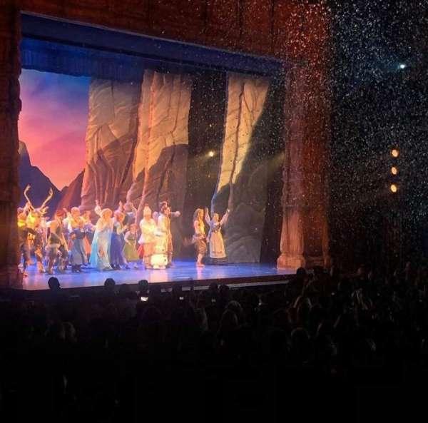 Hollywood Pantages Theatre, sección: Orchestra lc, fila: Y, asiento: 314