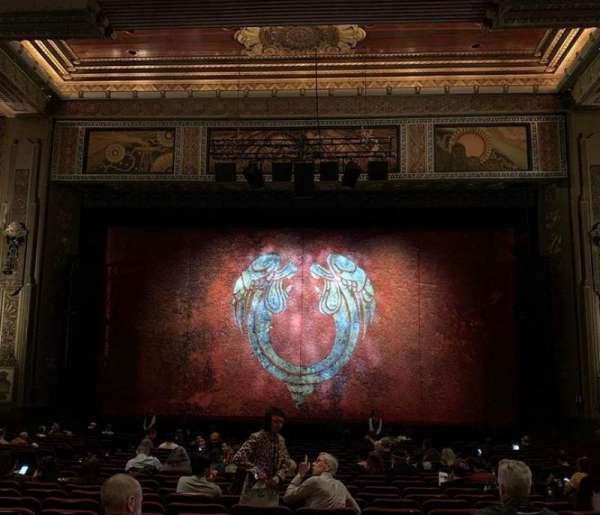 Hollywood Pantages Theatre, sección: Orchestra C, fila: NN, asiento: 105