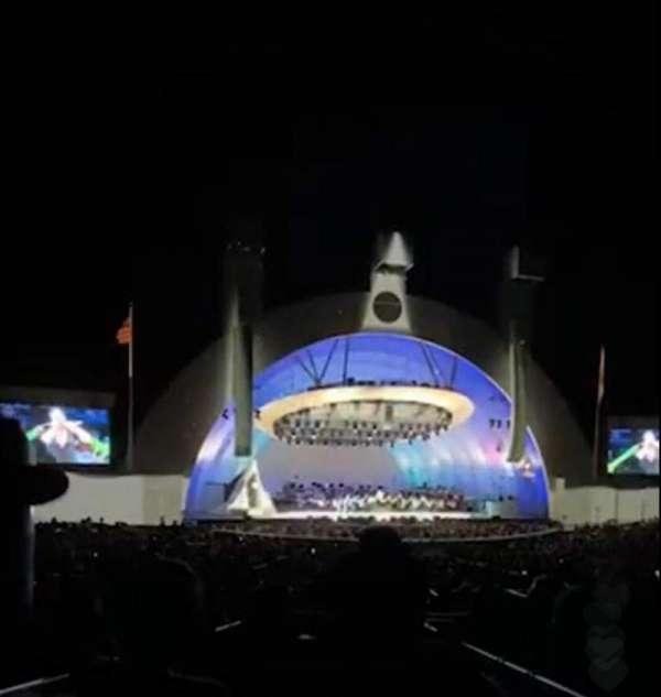 Hollywood Bowl, sección: Terrace 5, fila: 1651, asiento: 4