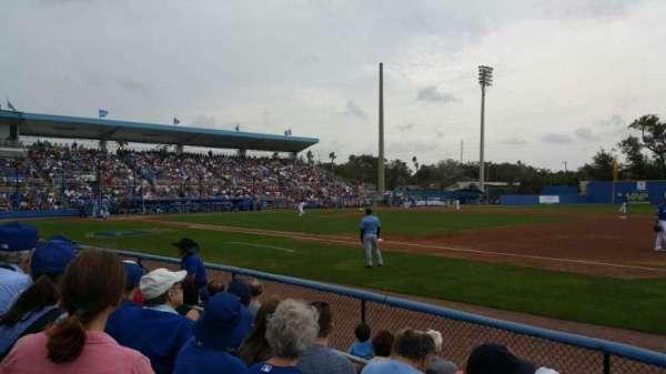 Florida Auto Exchange Stadium, sección: 101, fila: 4, asiento: 5