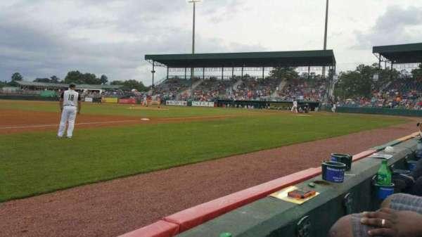 Lake Olmstead Stadium, sección: K, fila: 1, asiento: 17