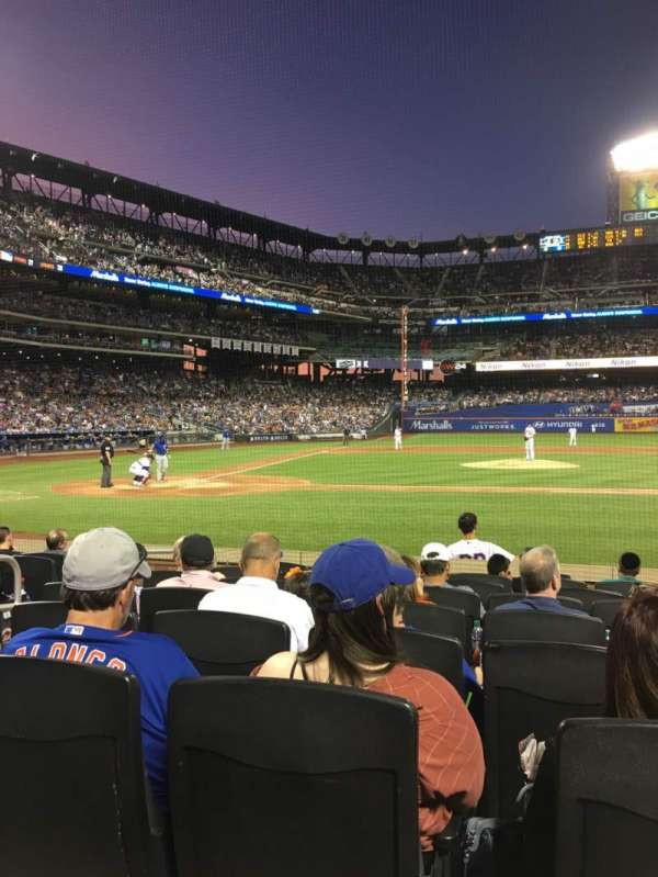 Citi Field, sección: 11, fila: 8, asiento: 5