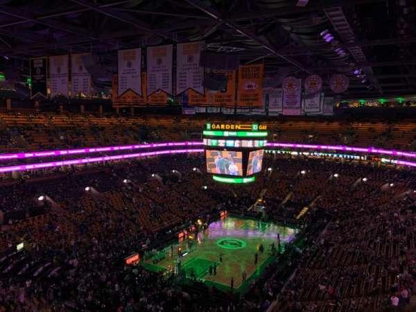 TD Garden, sección: Bal 321, fila: 11, asiento: 19