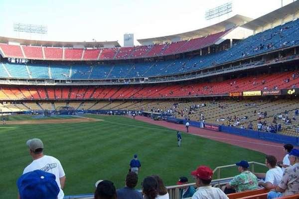 Dodger Stadium, sección: 303PL, fila: G, asiento: 106