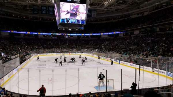 SAP Center at San Jose, sección: 124, fila: 14, asiento: 12
