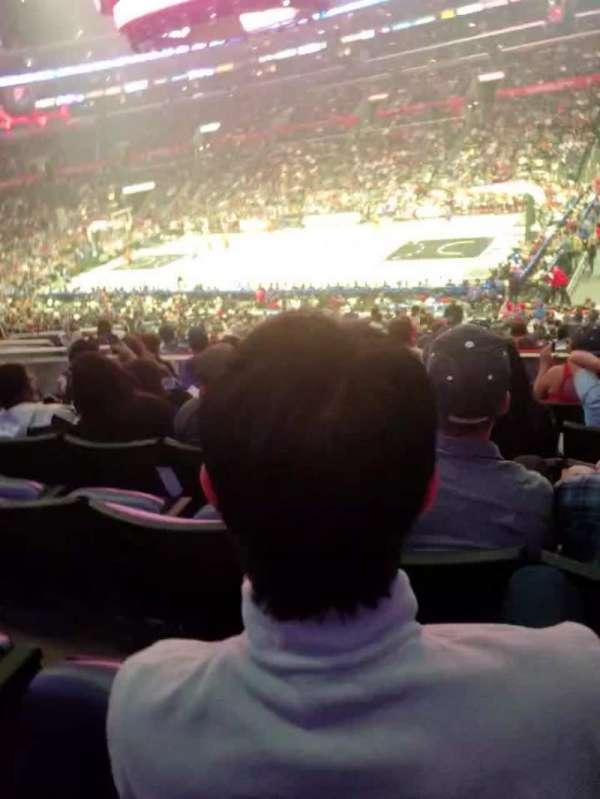 Staples Center, sección: PR12, fila: 7, asiento: 6