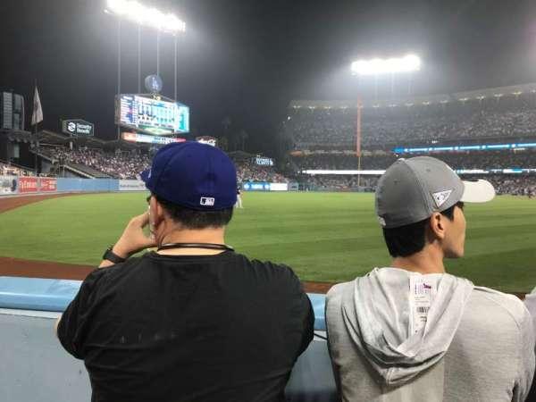 Dodger Stadium, sección: 49FD, fila: A, asiento: 13