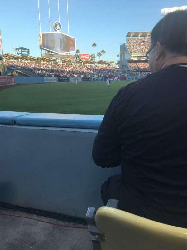 Dodger Stadium, sección: 49FD, fila: A, asiento: 14