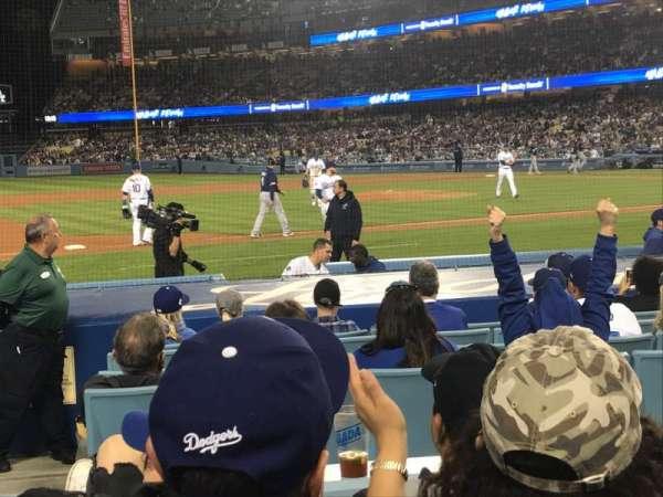 Dodger Stadium, sección: 23FD, fila: D, asiento: 8