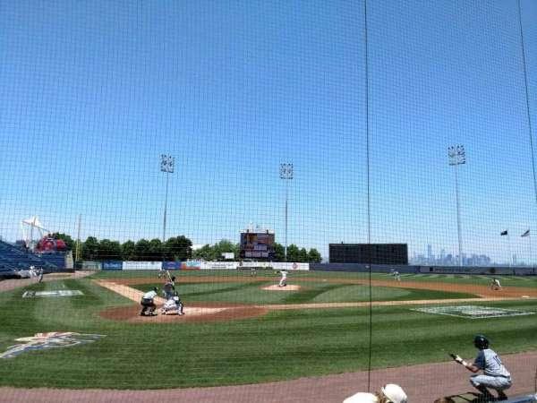 Richmond County Bank Ballpark, sección: 10, fila: E, asiento: 8