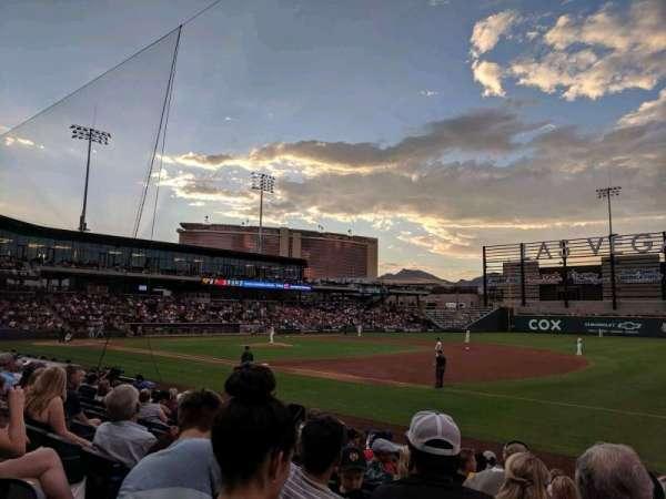 Las Vegas Ballpark, sección: 105, fila: L, asiento: 22