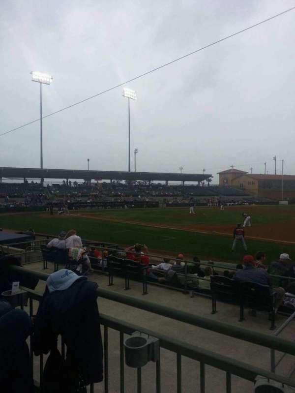 Osceola County Stadium, sección: 218, fila: 10, asiento: 2